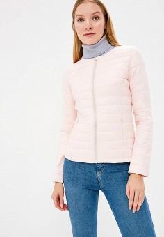 Куртка утепленная, Softy, цвет: розовый. Артикул: SO017EWAVXU6. Одежда / Верхняя одежда / Демисезонные куртки