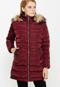 Куртка утепленная, Softy, цвет: бордовый. Артикул: SO017EWWWV85. Одежда / Верхняя одежда