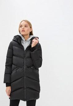 Пуховик, Soia & Kyo, цвет: черный. Артикул: SO036EWCEON0. Premium / Одежда / Верхняя одежда / Зимние куртки