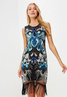 Платье, Soky & Soka, цвет: черный. Артикул: SO039EWDQU13. Одежда / Платья и сарафаны