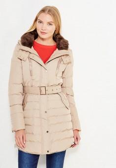 Куртка утепленная, So Sweet, цвет: бежевый. Артикул: SO040EWWRT44. Одежда / Верхняя одежда