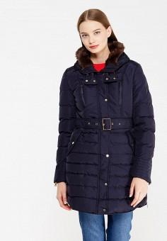 Куртка утепленная, So Sweet, цвет: синий. Артикул: SO040EWWRT45. Одежда / Верхняя одежда