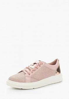 Кеды, s.Oliver, цвет: розовый. Артикул: SO917AWAJHP0. Обувь / Кроссовки и кеды / Кеды