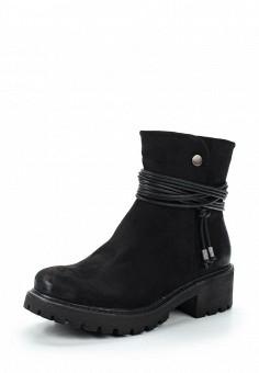 Полусапоги, s.Oliver, цвет: черный. Артикул: SO917AWWCH21. Обувь / Сапоги