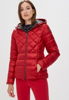 Куртка утепленная, s.Oliver, цвет: красный. Артикул: SO917EWBPKE4. Одежда / Верхняя одежда / Демисезонные куртки