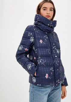 Пуховик, s.Oliver, цвет: синий. Артикул: SO917EWBPKH6. Одежда / Верхняя одежда / Зимние куртки