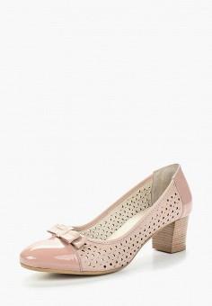Туфли, Спартак, цвет: розовый. Артикул: SP025AWAGZR4. Обувь / Туфли / Закрытые туфли