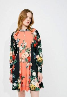 Платье, Sportmax Code, цвет: мультиколор. Артикул: SP027EWADSA9. Premium / Одежда / Платья и сарафаны