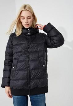 Пуховик, Sportmax Code, цвет: черный. Артикул: SP027EWBSXJ1. Одежда / Верхняя одежда / Зимние куртки