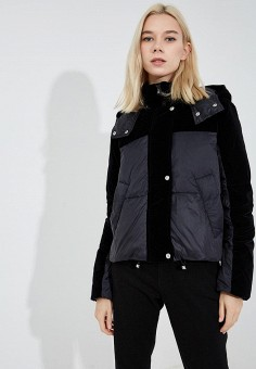 Пуховик, Sportmax Code, цвет: черный. Артикул: SP027EWBSXJ4. Одежда / Верхняя одежда / Зимние куртки