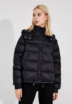 Пуховик, Sportmax Code, цвет: черный. Артикул: SP027EWBSXJ5. Одежда / Верхняя одежда / Пуховики и зимние куртки