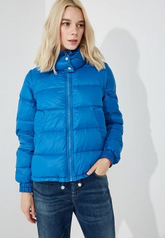 Пуховик, Sportmax Code, цвет: синий. Артикул: SP027EWBSXJ6. Premium / Одежда / Верхняя одежда / Зимние куртки