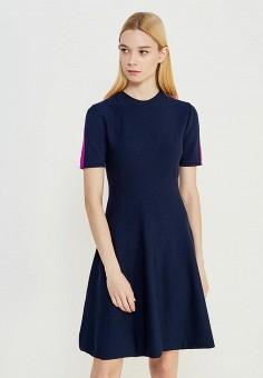 Платье, Sportmax Code, цвет: синий. Артикул: SP027EWTMG87. Одежда / Платья и сарафаны