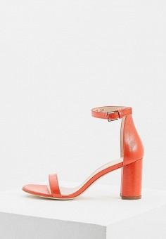 Босоножки, Stuart Weitzman, цвет: красный. Артикул: ST001AWBRES7. Premium / Обувь / Босоножки