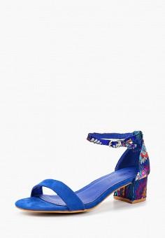 Босоножки, Stephan, цвет: синий. Артикул: ST031AWBRIZ0. Обувь / Босоножки