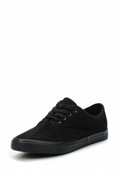 Кеды, Style Shoes, цвет: черный. Артикул: ST040AWAWVO2. Обувь / Кроссовки и кеды / Кеды