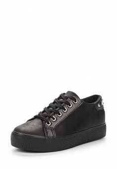 Кеды, Style Shoes, цвет: черный. Артикул: ST040AWAWVP0. Обувь / Кроссовки и кеды / Кеды