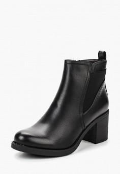 Ботильоны, Super Mode, цвет: черный. Артикул: SU013AWBYUF7. Обувь