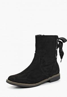 Полусапоги, Super Mode, цвет: черный. Артикул: SU013AWCOJD4. Обувь