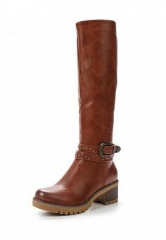 Сапоги, Super Mode, цвет: коричневый. Артикул: SU013AWYNL49. Обувь / Сапоги