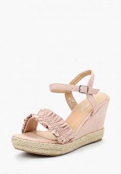 Босоножки, Sweet Shoes, цвет: розовый. Артикул: SW010AWBKSG0. Обувь / Босоножки