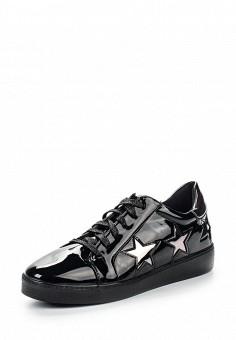 Кеды, Sweet Shoes, цвет: черный. Артикул: SW010AWRWK12. Обувь / Кроссовки и кеды