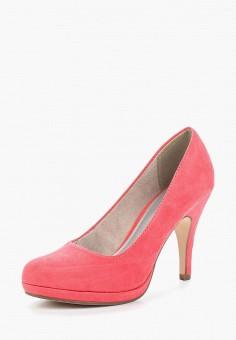 Туфли, Tamaris, цвет: коралловый. Артикул: TA171AWACMG8. Обувь / Туфли / Закрытые туфли