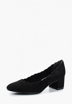 Туфли, Tamaris, цвет: черный. Артикул: TA171AWACMM2. Tamaris