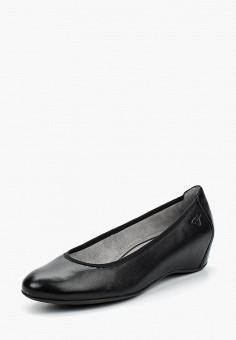 Туфли, Tamaris, цвет: черный. Артикул: TA171AWACMN6. Tamaris