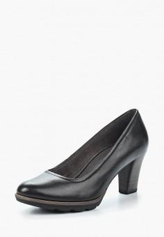 Туфли, Tamaris, цвет: черный. Артикул: TA171AWACMO1. Tamaris