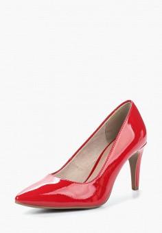 Туфли, Tamaris, цвет: красный. Артикул: TA171AWACMO7. Tamaris