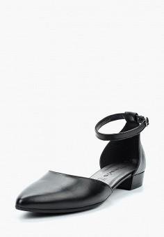 Туфли, Tamaris, цвет: черный. Артикул: TA171AWACMU7. Tamaris