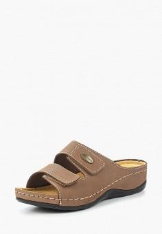 Сабо, Tamaris, цвет: коричневый. Артикул: TA171AWACND4. Tamaris