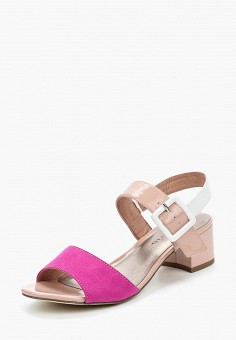 Босоножки, Tamaris, цвет: розовый. Артикул: TA171AWACNI0. Обувь / Босоножки
