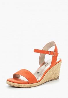 Босоножки, Tamaris, цвет: оранжевый. Артикул: TA171AWACNI6. Tamaris