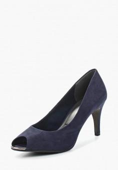 Туфли, Tamaris, цвет: синий. Артикул: TA171AWACNM9. Tamaris