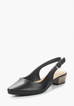 Туфли, Tamaris, цвет: черный. Артикул: TA171AWACNN4. Tamaris