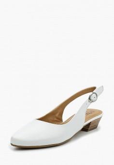 Туфли, Tamaris, цвет: белый. Артикул: TA171AWACNN5. Tamaris