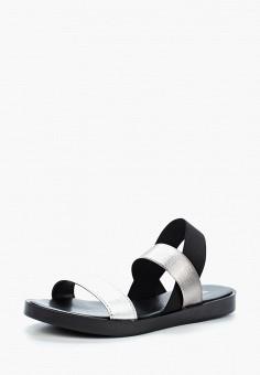Сандалии, Tervolina, цвет: серебряный. Артикул: TE007AWAEOP6. Обувь / Сандалии
