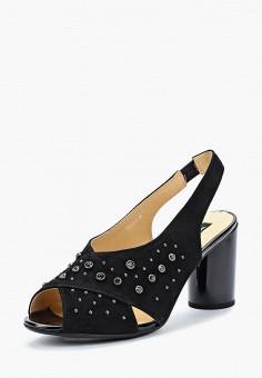 Босоножки, Tervolina, цвет: черный. Артикул: TE007AWAEOS3. Обувь / Босоножки