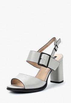 Босоножки, Tervolina, цвет: серый. Артикул: TE007AWAEOS4. Обувь / Босоножки