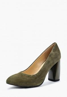 Туфли, Tervolina, цвет: хаки. Артикул: TE007AWAEOU6. Обувь