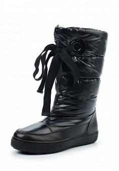 Дутики, Tervolina, цвет: черный. Артикул: TE007AWXEC49. Обувь / Сапоги