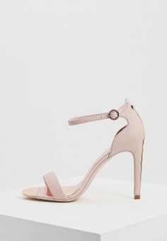 Босоножки, Ted Baker London, цвет: розовый. Артикул: TE019AWZIO63. Premium / Обувь / Босоножки