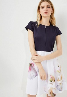 Платье, Ted Baker London, цвет: мультиколор. Артикул: TE019EWZVT62. Ted Baker London