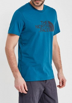 Футболка, The North Face, цвет: синий. Артикул: TH016EMANVW0. The North Face