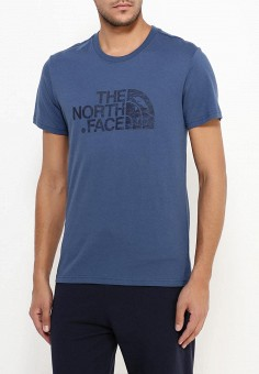 Футболка, The North Face, цвет: синий. Артикул: TH016EMREG64. The North Face