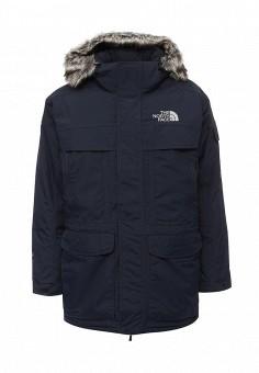 Пуховик, The North Face, цвет: синий. Артикул: TH016EMVXV14. Мужская одежда / Верхняя одежда / Пуховики и зимние куртки