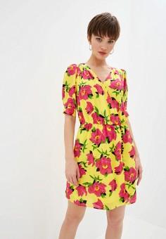 Платье The Kooples frob18119k, цвет желтый