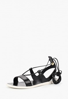 Сандалии, Tosca Blu, цвет: черный. Артикул: TO006AWBNPR4. Обувь / Сандалии